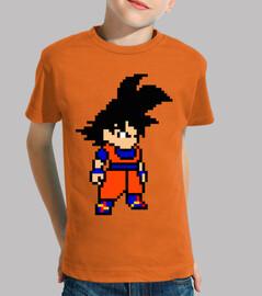 Goku 8bit (Camiseta Niño)