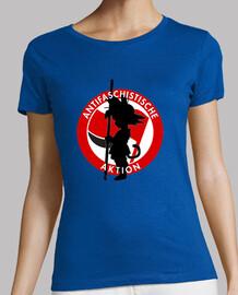 goku antifascista chica