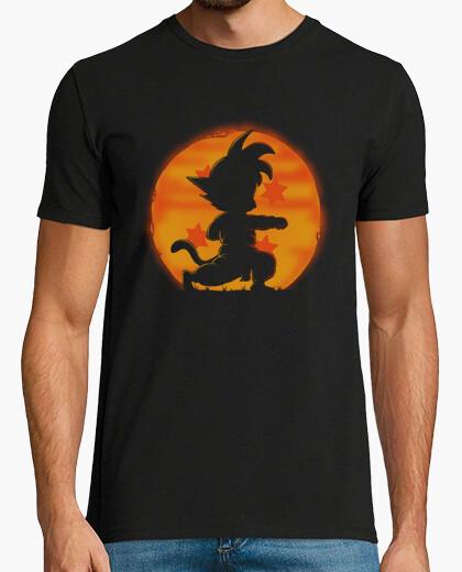 T-shirt goku by night