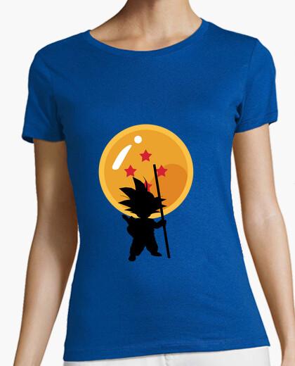 T-shirt goku con ball del drago
