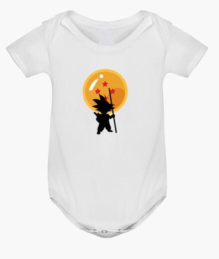 Vêtements enfant goku dans dragon ball