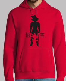 goku évolution de  sweat-shirt  avec capuche