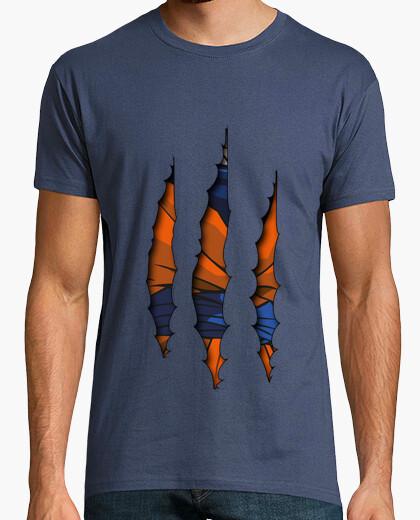 Camiseta Goku Rasgado