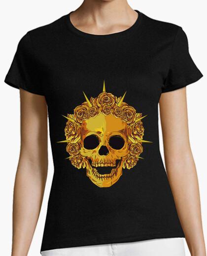Camiseta gold Skull
