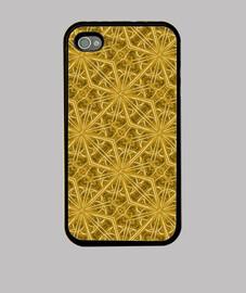GOLDEN ARABESQUE IPHONE 4