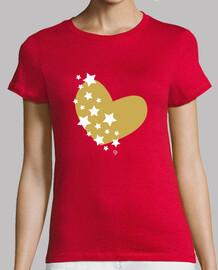 golden heart - stars