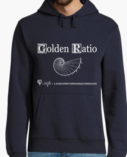 Sudadera GOLDEN RATIO - PROPORCIÓN AUREA FIBONACCI