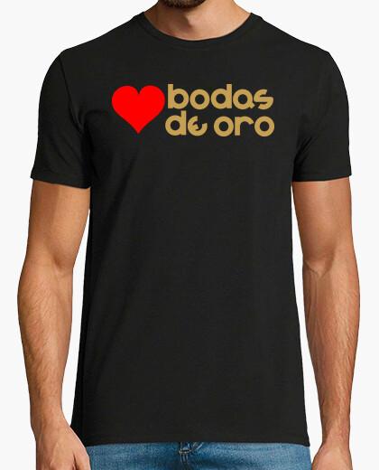 T Shirt Goldene Hochzeit