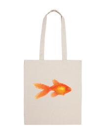 Goldfish bolsa pez naranja