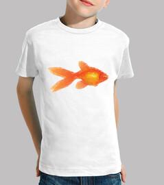 Goldfish camiseta pez naranja