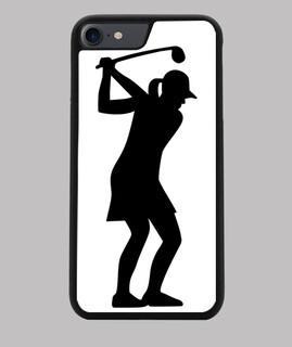 Golf Frau Mädchen