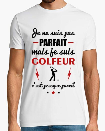 Camiseta golfista no perfecto