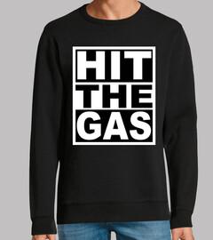 golpear el gas