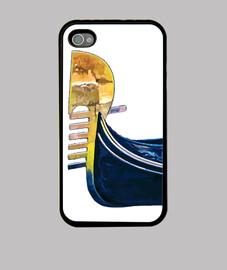 Gondola -Venezia -Funda iPhone 4, negra