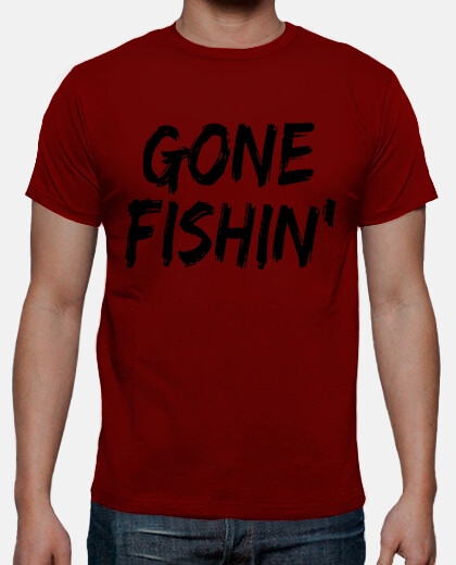 Camisetas Gone Fishin'