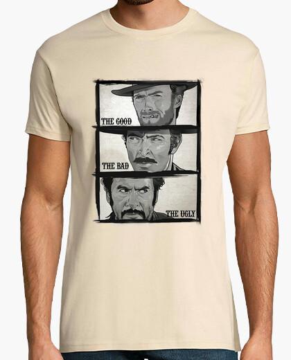 Camiseta Good, Bad, Ugly