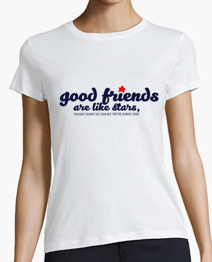 T-shirt Good friends are like stars