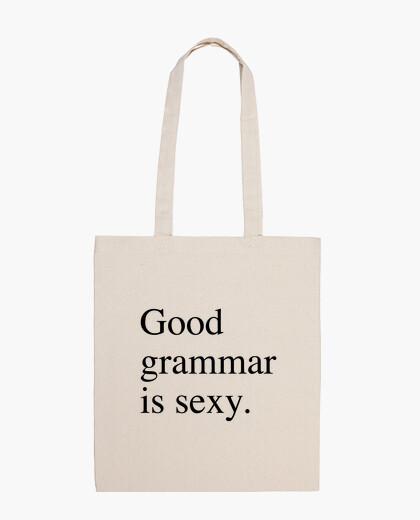 Bolsa Good grammar is sexy