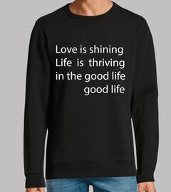 good life letra blanco