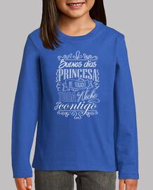good morning princess - white