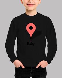 google bebé marcador de ruta