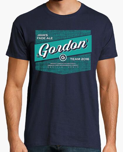Camiseta Gordon 2016 Azul
