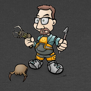 Camisetas Gordon Freeman de Half-Life