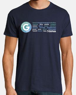 Gordon todos los nombres, azul marino