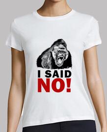 gorila - dije que no!