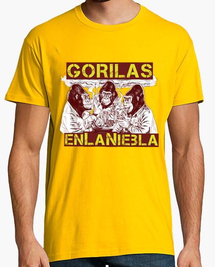 Camiseta GORILAS EN LA NIEBLA