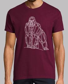 gorille géométrique h2