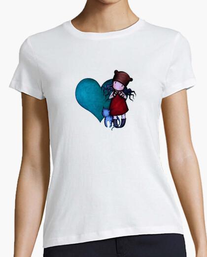 Camiseta Gorjuss (Corazon)