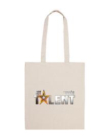 got talent españa - 100% cotton fabric bag