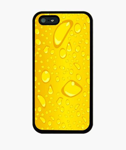 Funda iPhone Gotas amarillo
