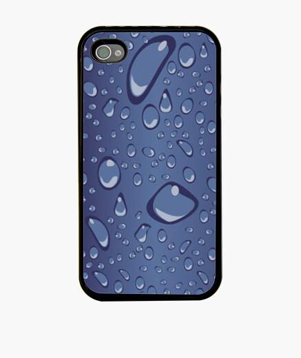 Funda iPhone Gotas azul