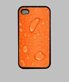 Gotas naranja