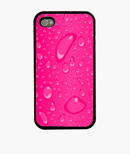 Funda iPhone Gotas rosa