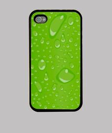 Gotas verde