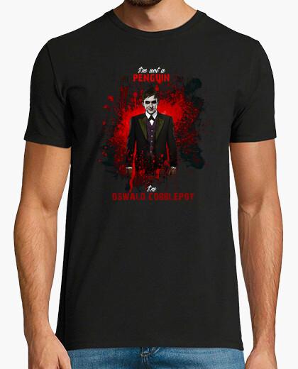 Tee-shirt Gotham Oswald Cobblepot pingouin