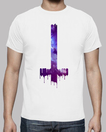 gothic cross hipster boho galaxy