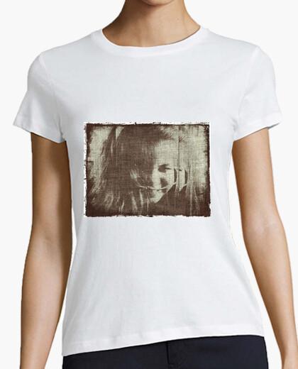 Camiseta Gothic girl, white