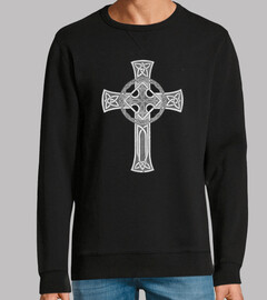 gothic metal sweatshirt, black