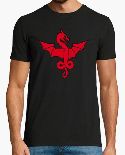Camiseta Gothic Red Dragon