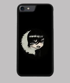 Gotiko Funda iPhone 7 8, negra
