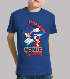 Gotta Go Fast! (Camiseta infantil)