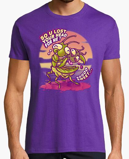 Gottesanbeterin liebe t-shirt