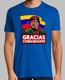 Gracias Comandante. Hugo Chávez