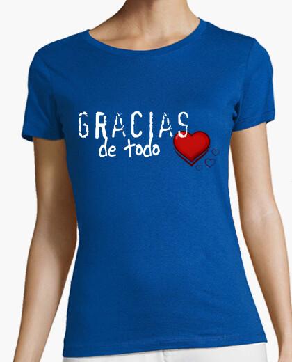 Camiseta Gracias de corazón