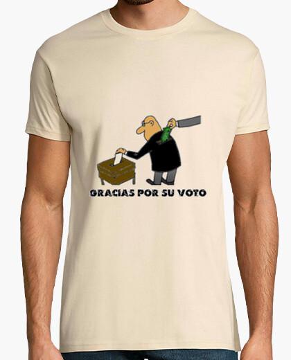 Camiseta Gracias por su voto