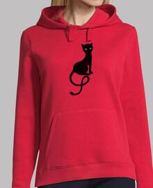 graciosa gato negro mal